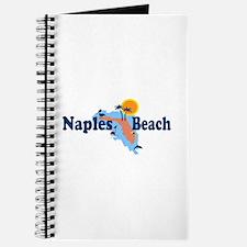 Naples Beach - Map Design. Journal