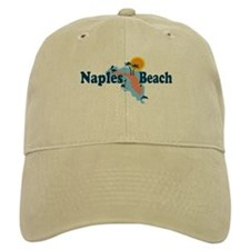 Naples Beach - Map Design. Cap