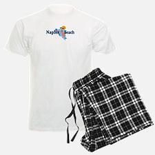Naples Beach - Map Design. Pajamas