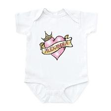 Sweetheart Alexandra Custom Princess Infant Bodysu