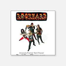 '80's Tribute Band RockHard Phoenix AZ Sticker