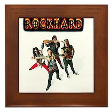 '80's Tribute Band RockHard Phoenix AZ Framed Tile