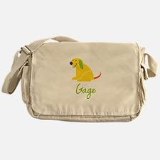 Gage Loves Puppies Messenger Bag