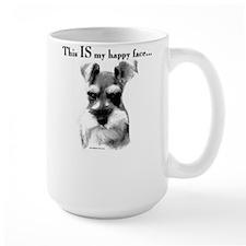 Std. Schnauzer Happy Face Coffee Mug