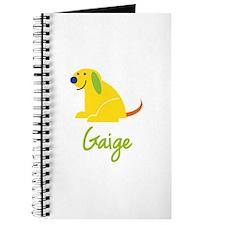 Gaige Loves Puppies Journal
