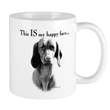 Vizsla Happy Face Coffee Mug