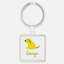 Gavyn Loves Puppies Keychains
