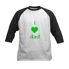 i heart dad (green) Tee
