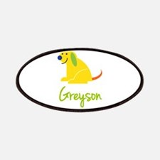 Greyson Loves Puppies Patches
