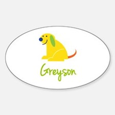 Greyson Loves Puppies Decal