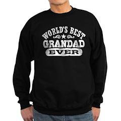 World's Best Grandad Ever Sweatshirt (dark)