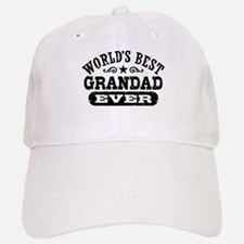 World's Best Grandad Ever Baseball Baseball Cap