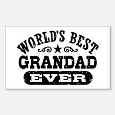 World's Best Grandad Ever Decal