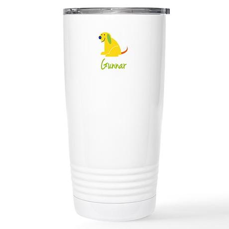 Gunnar Loves Puppies Travel Mug