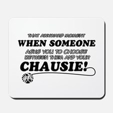 Chausie cat gifts Mousepad