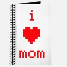 i heart mom (red) Journal