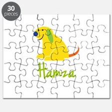 Hamza Loves Puppies Puzzle