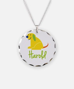 Harold Loves Puppies Necklace