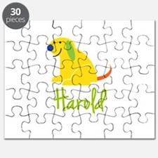 Harold Loves Puppies Puzzle