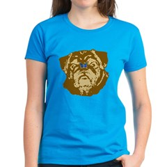 Pug and Butterfly Tee
