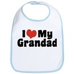 I Love My Grandad Bib