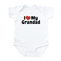 I Love My Grandad Infant Bodysuit