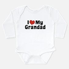 I Love My Grandad Long Sleeve Infant Bodysuit