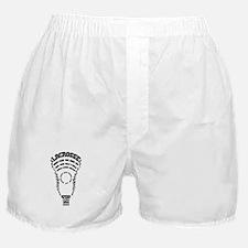 Lacrosse Defense Words Boxer Shorts