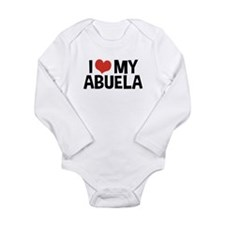 I Love My Abuela Long Sleeve Infant Bodysuit