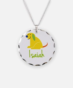 Isaiah Loves Puppies Necklace