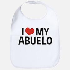 I Love My Abuelo Bib
