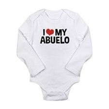 I Love My Abuelo Long Sleeve Infant Bodysuit