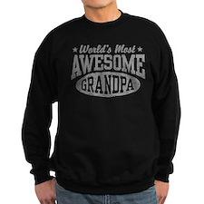 World's Most Awesome Grandpa Sweatshirt