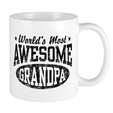 World's Most Awesome Grandpa Mug