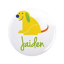 """Jaiden Loves Puppies 3.5"""" Button"""