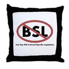 Anti BSL Throw Pillow