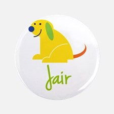 "Jair Loves Puppies 3.5"" Button"
