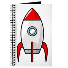 red and white rocket Journal