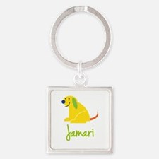 Jamari Loves Puppies Keychains
