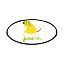 Jamarion Loves Puppies Patches