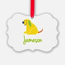 Jameson Loves Puppies Ornament