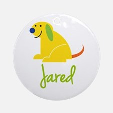 Jared Loves Puppies Ornament (Round)