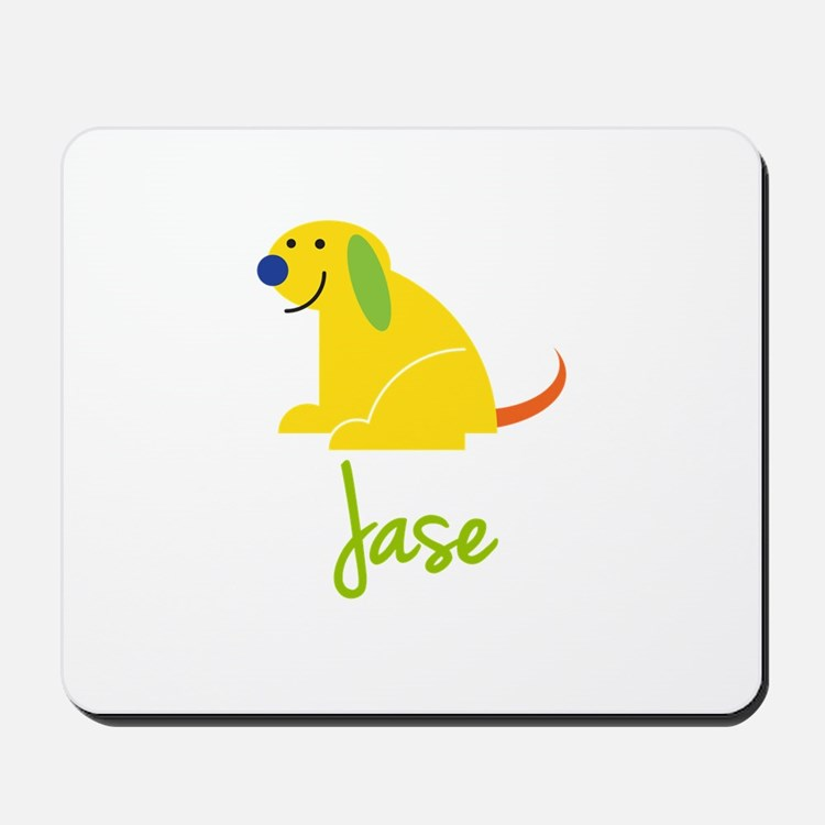 Jase Loves Puppies Mousepad