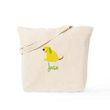 Jase Loves Puppies Tote Bag