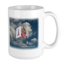 Pink Ribbon Mug (Large)