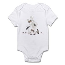 Skeletons, Points, & Sherds Infant Bodysuit