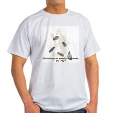 Skeletons, Points, & Sherds Ash Grey T-Shirt