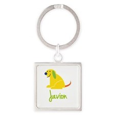 Javion Loves Puppies Keychains
