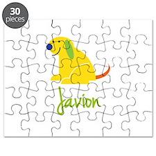 Javion Loves Puppies Puzzle