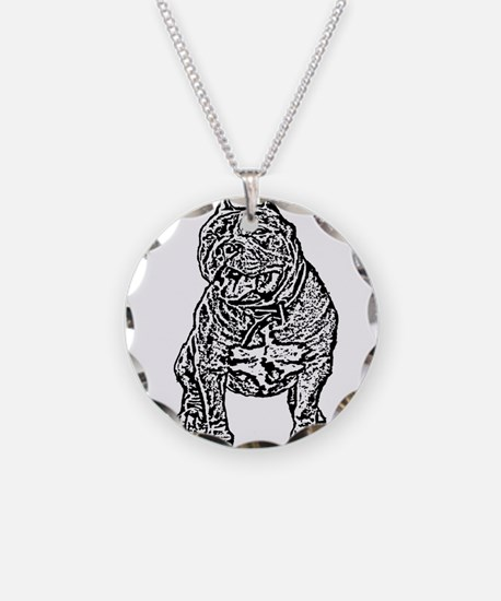 American Bully Dog Necklace